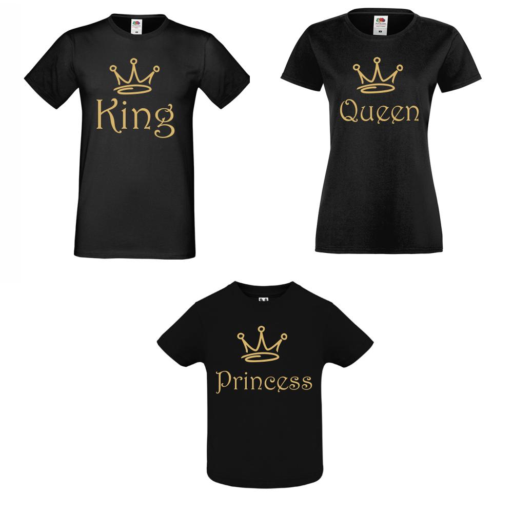Set pentru familie King, Queen and Princess