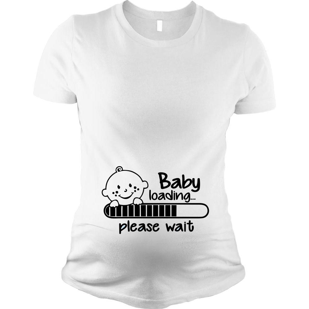 Tricou pentru femei gravide Baby is Coming
