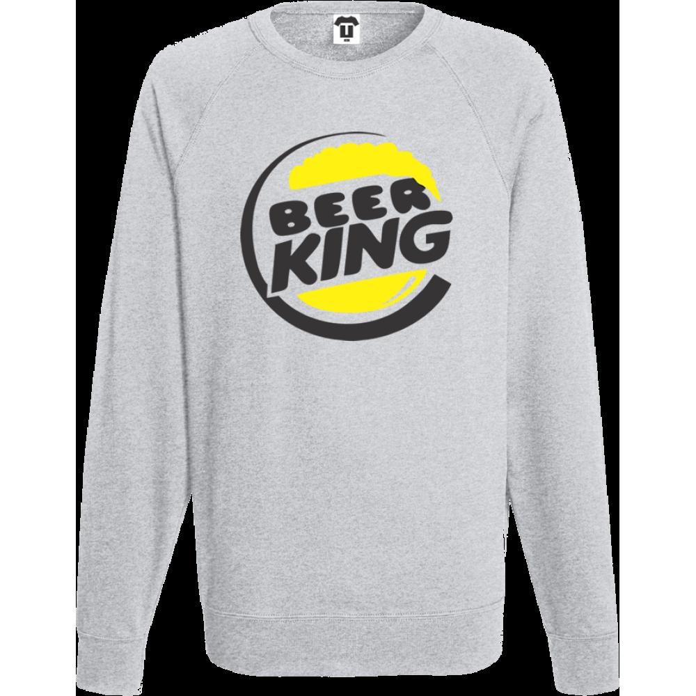 Bluza de barbat gri BEER KING