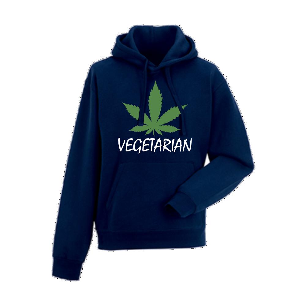 Hanorac de barbati albastru inchis Vegetarian