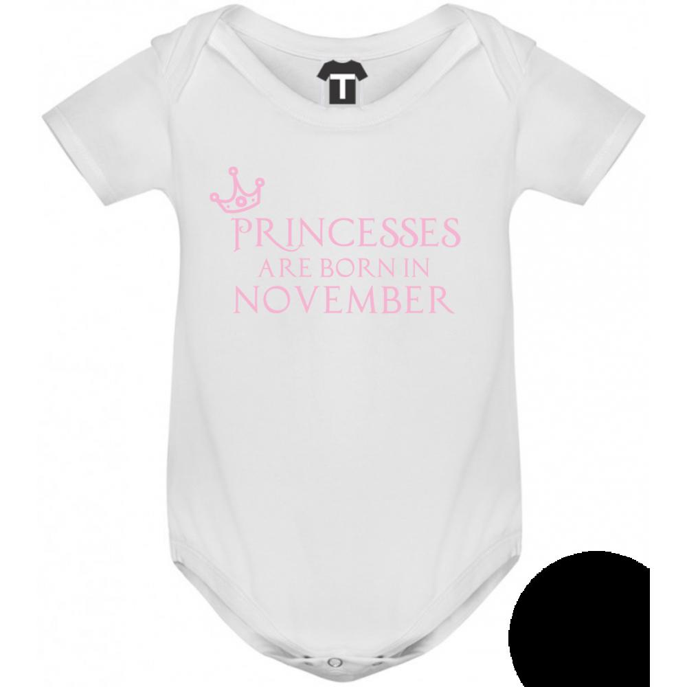 Body bebelusi Princesses Are Born In November