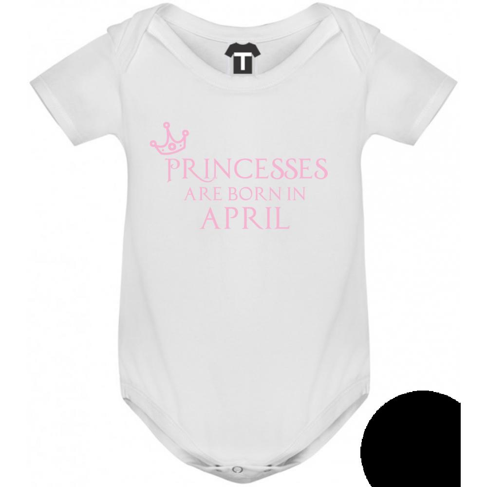 Body bebelusi Princesses Are Born In April