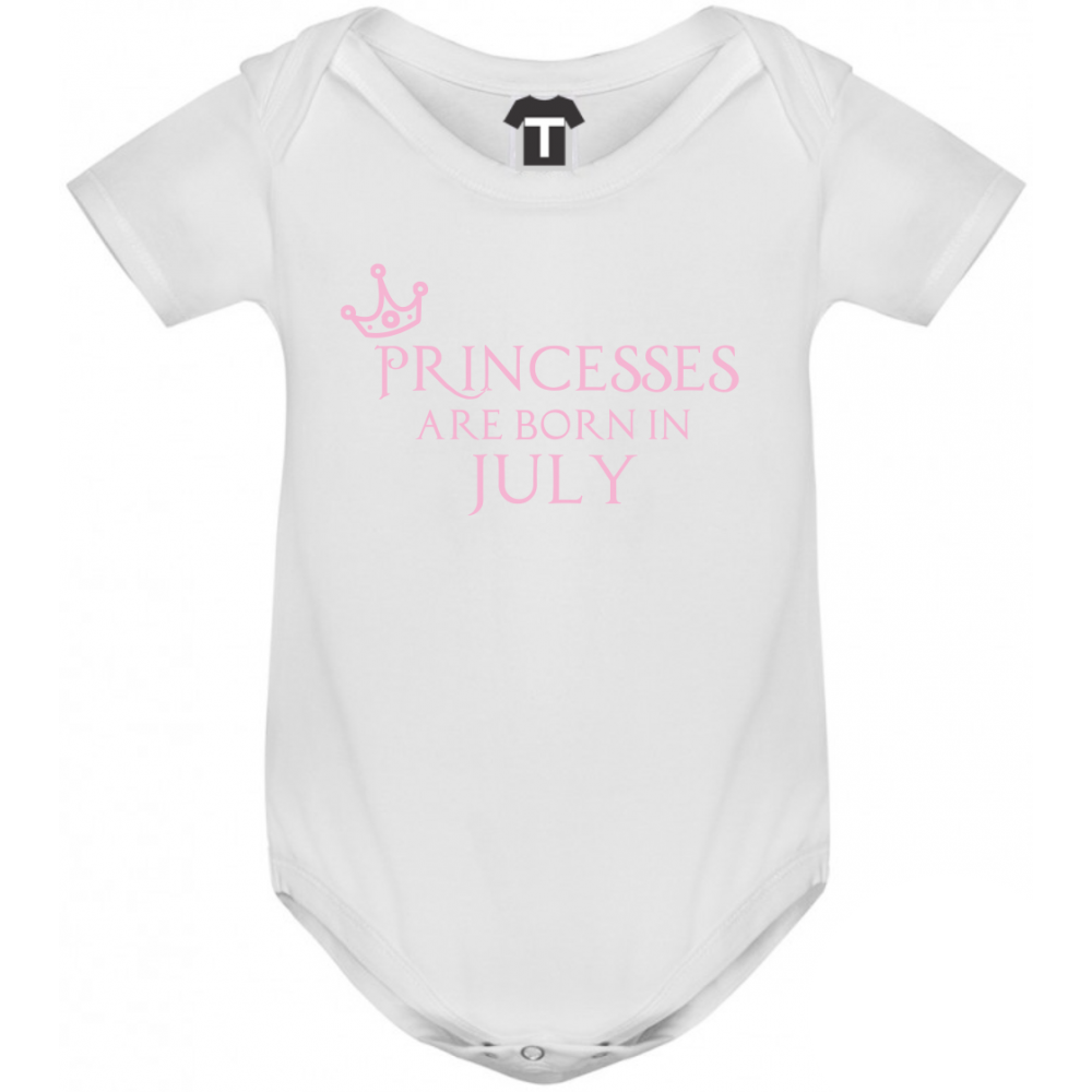 Body bebelusi Princesses Are Born In July