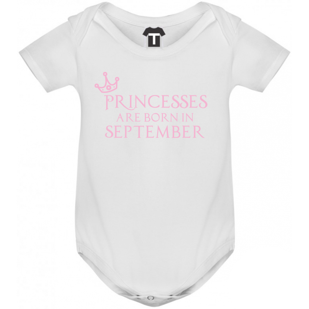 Body bebelusi Princesses Are Born In September