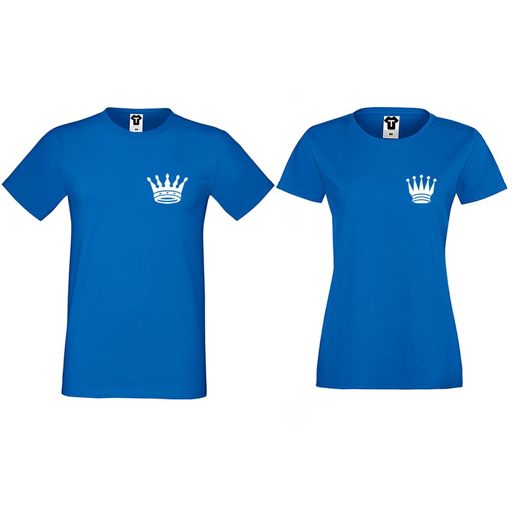 Tricouri pentru cupluri Pocket Crowns