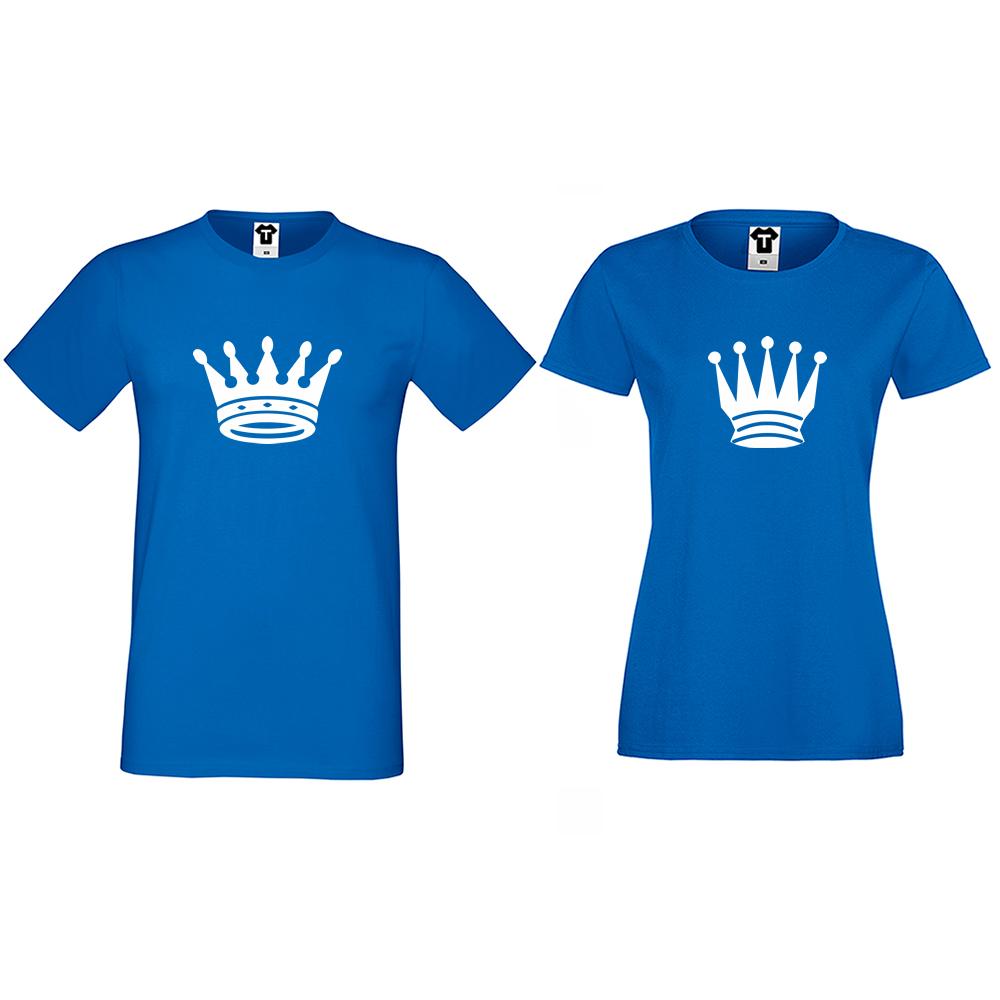 Tricouri pentru cupluri Big Crowns