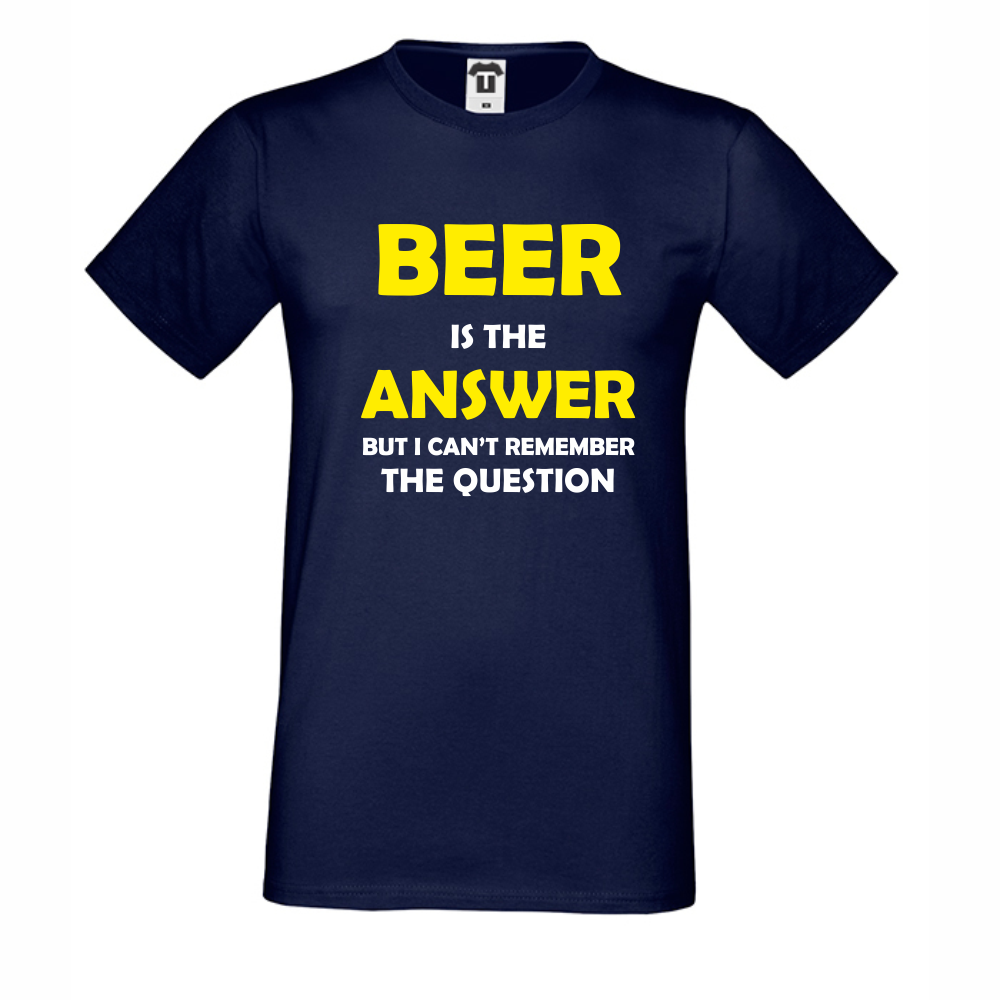 Tricou de barbat Beer is the Answer