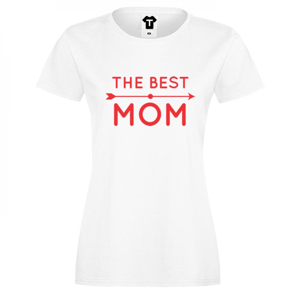 Tricou de dama alb The Best Mom 2