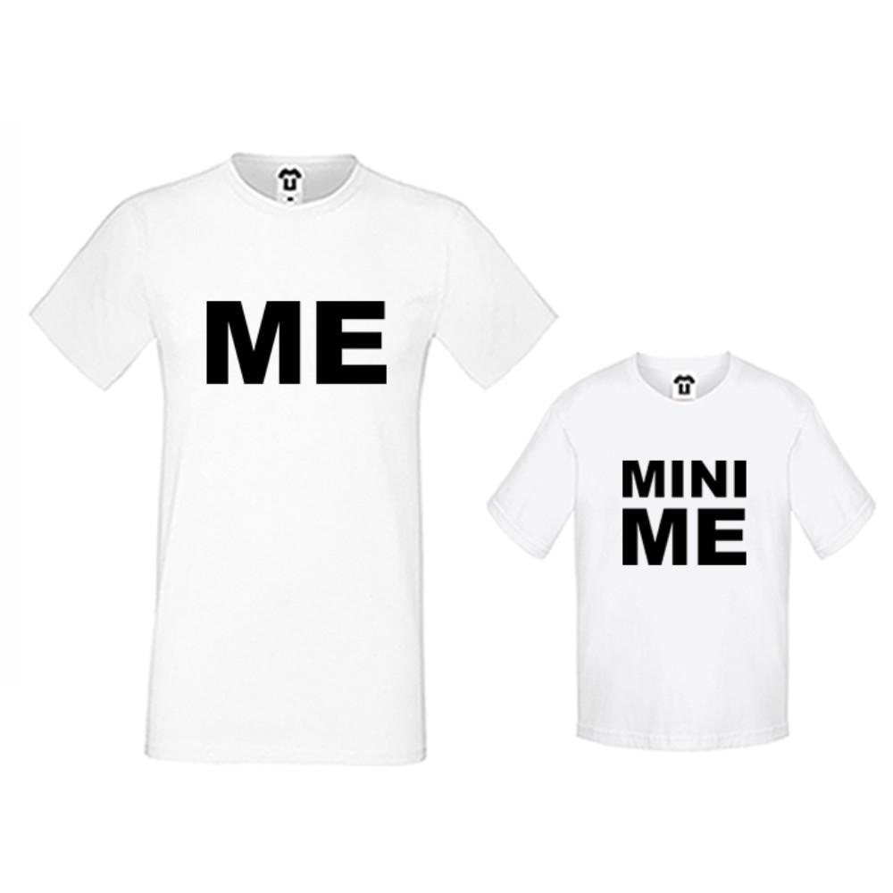 Set produse pe alb sau pe negru Me and Mini Me