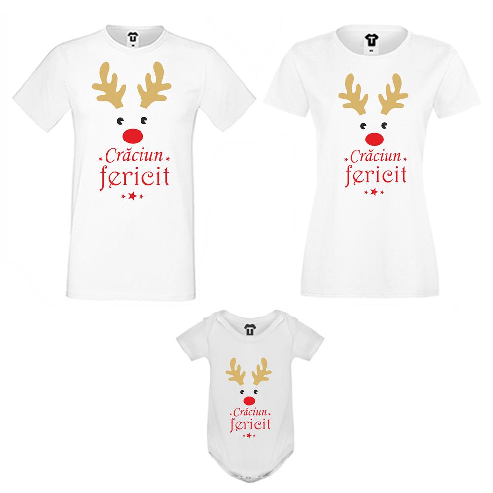 Set de tricouri pentru familie Cracuin