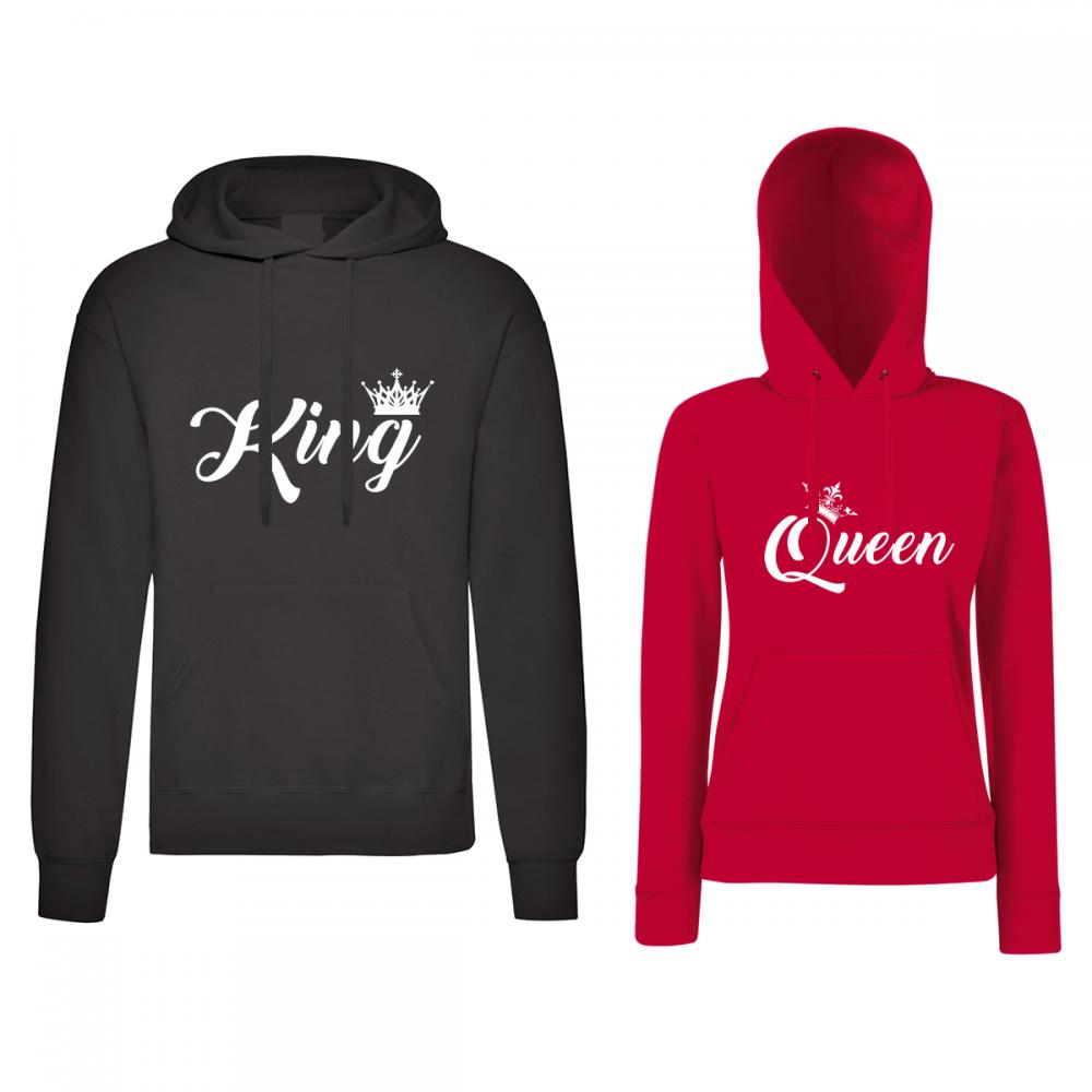 Hanorace pentru cupluri King and Queen