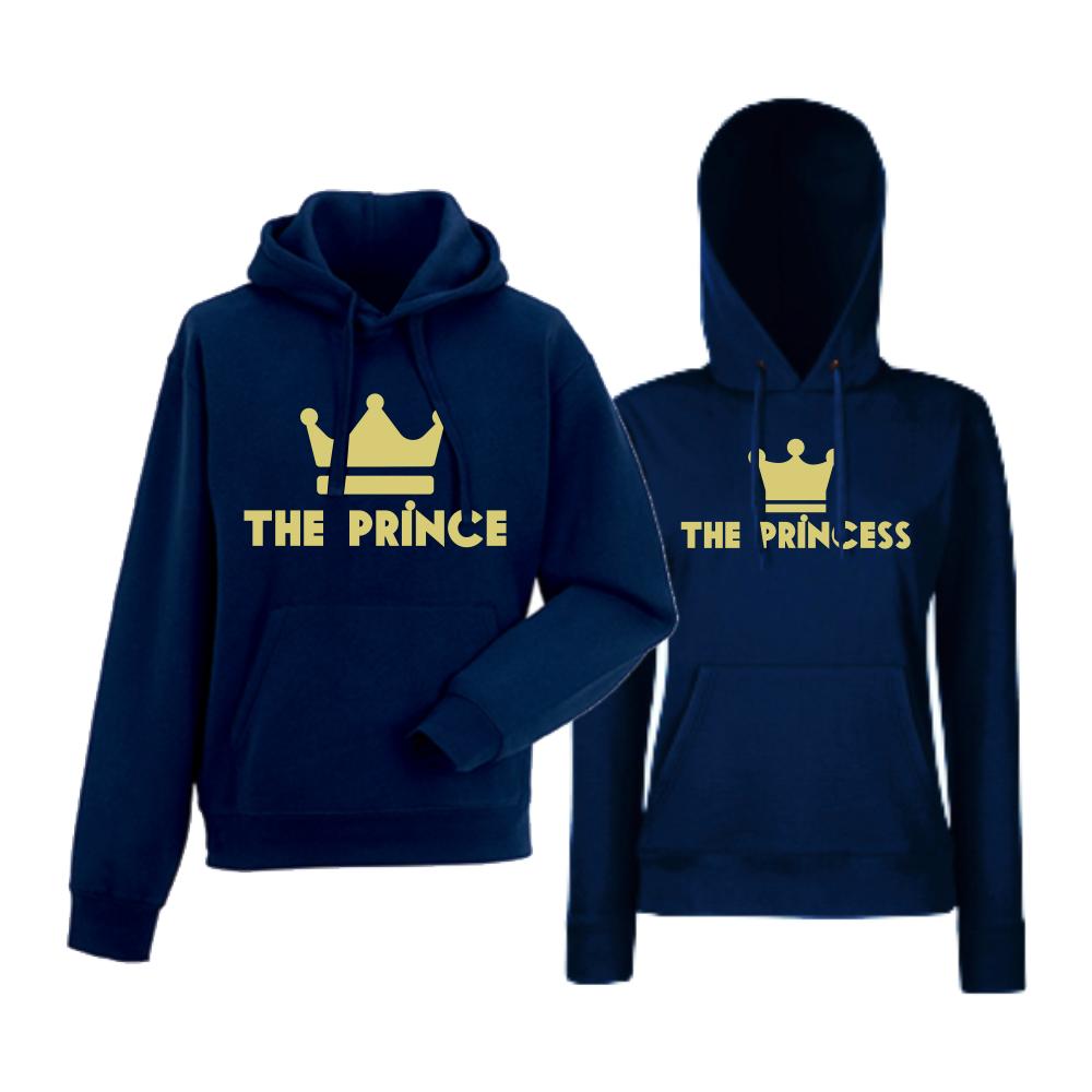 Set hanorace albastru inchis The Prince - The Princes