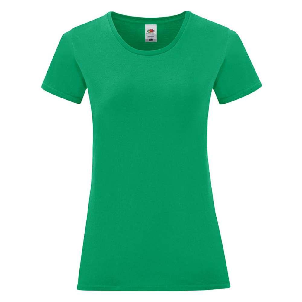 Tricou de dama din 100% bumbac verde