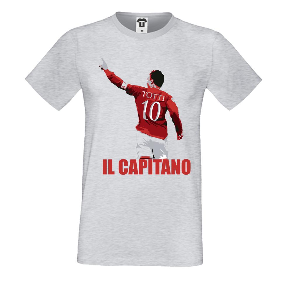 Tricou de barbat Totti Il Capitano