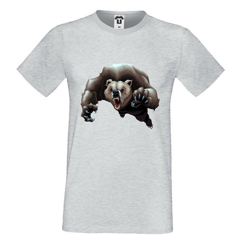 Tricou de barbat Angry Bear