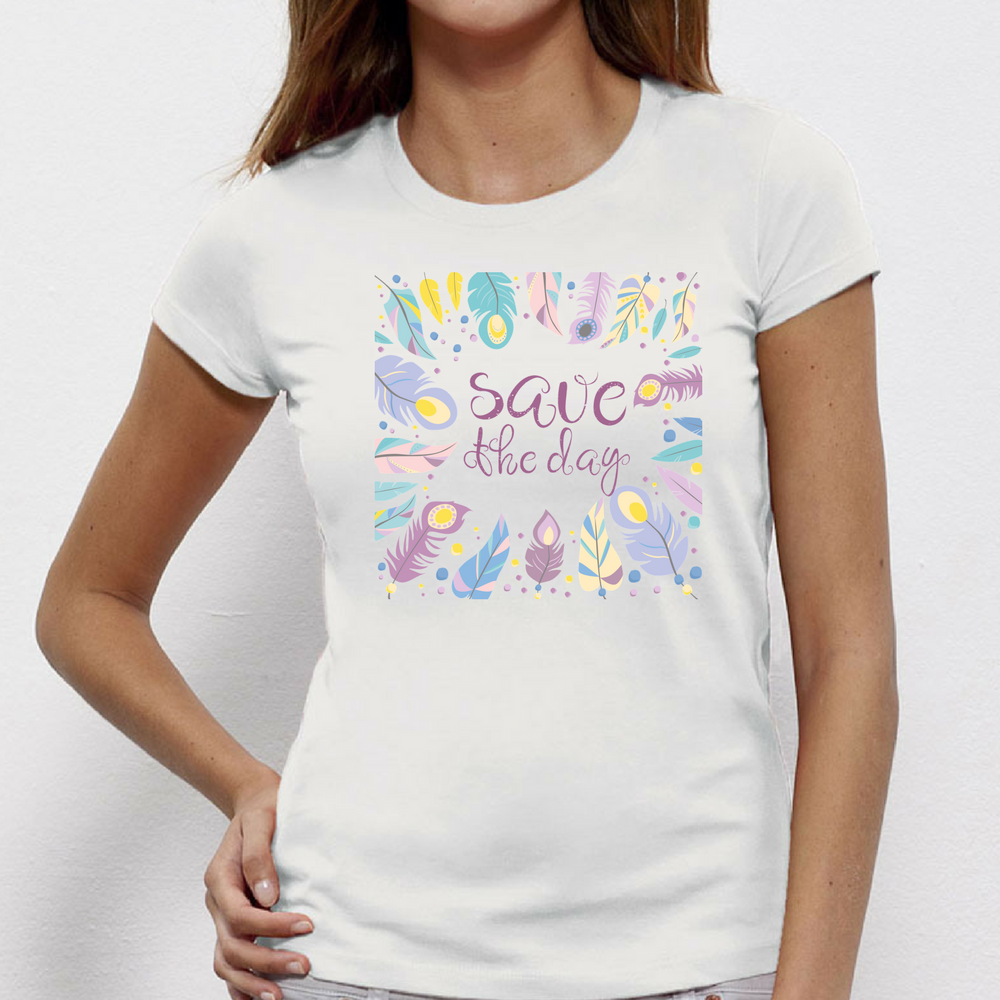 Tricou de dama Save the day