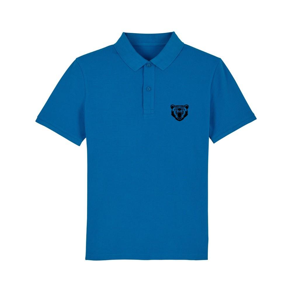 Tricou/Camasa stil Polo din 100% bumbac otganic in culori diferite Bear Roar
