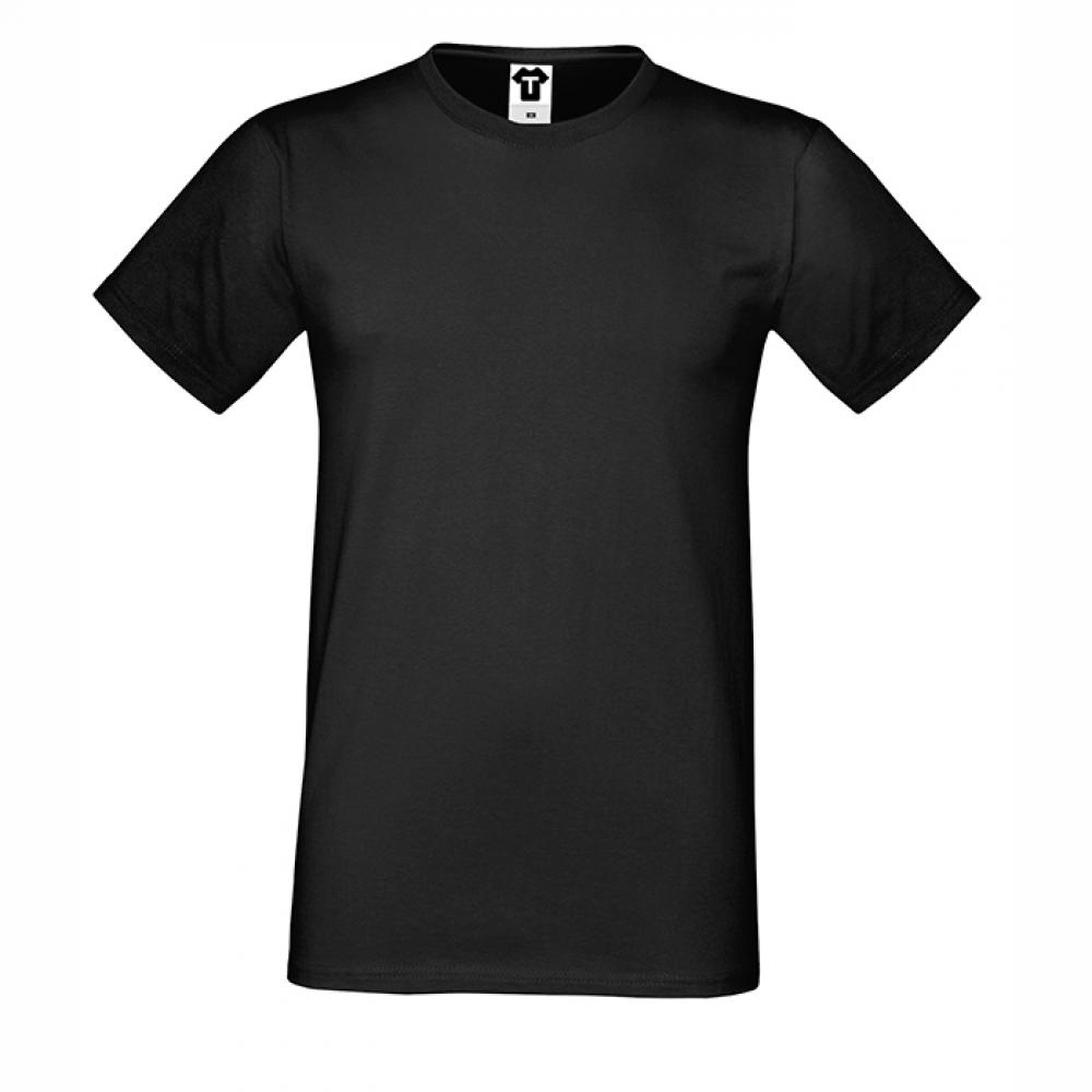 Tricou de barbat negru