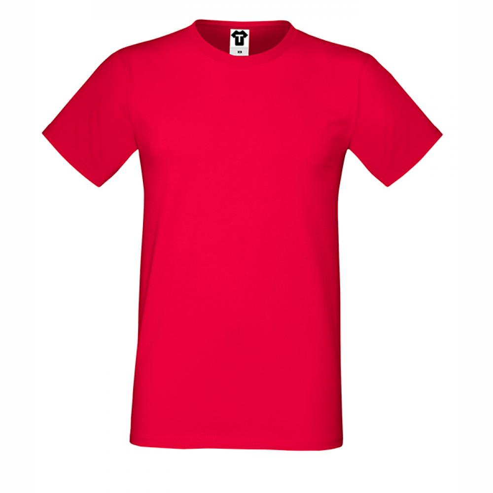 Tricou de barbat rosu
