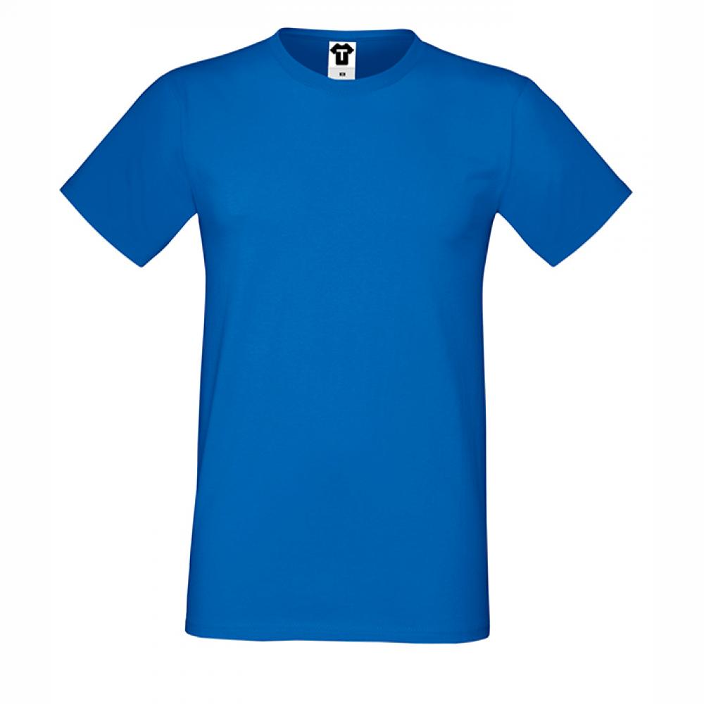 Tricou de barbat albastru
