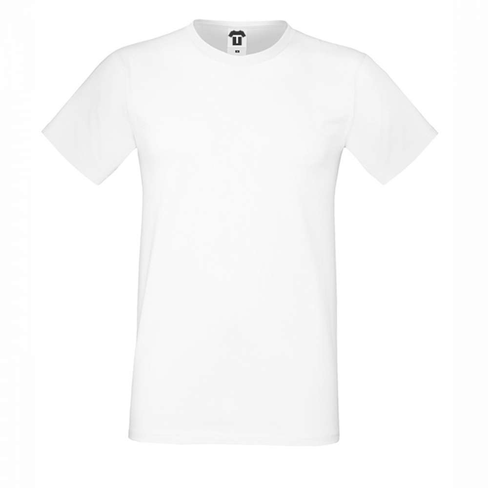 Tricou de barbat alb