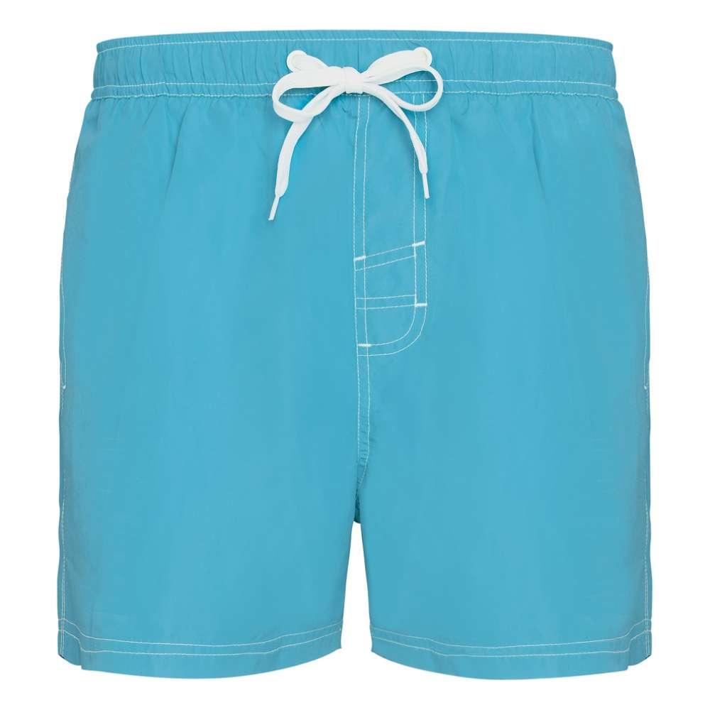 Pantaloni scurti pentru inot si sport albastru