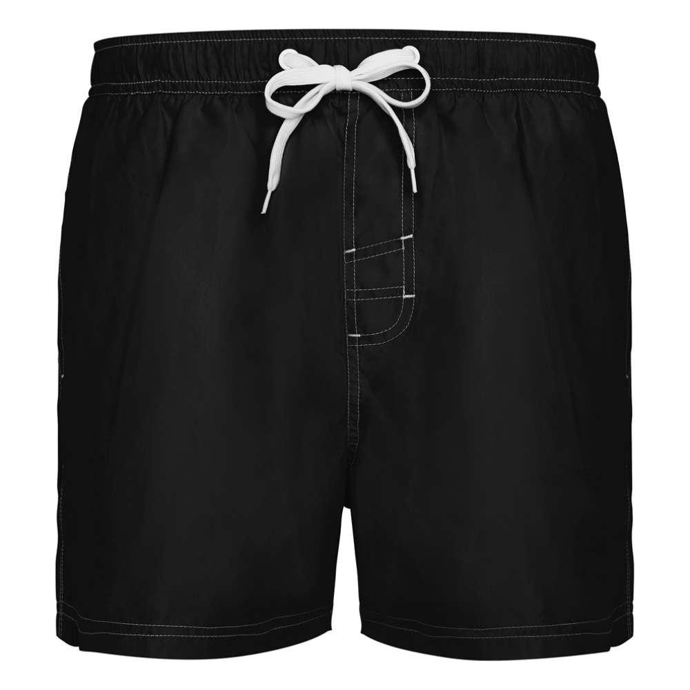 Pantaloni scurti pentru inot si sport negru