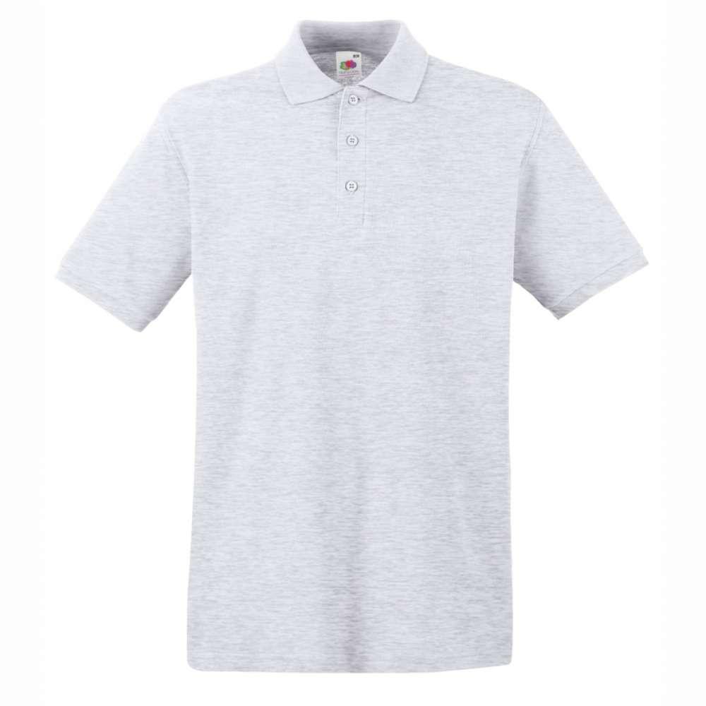 Tricou/Camasa stil Polo de barbat 100% bumbac gri