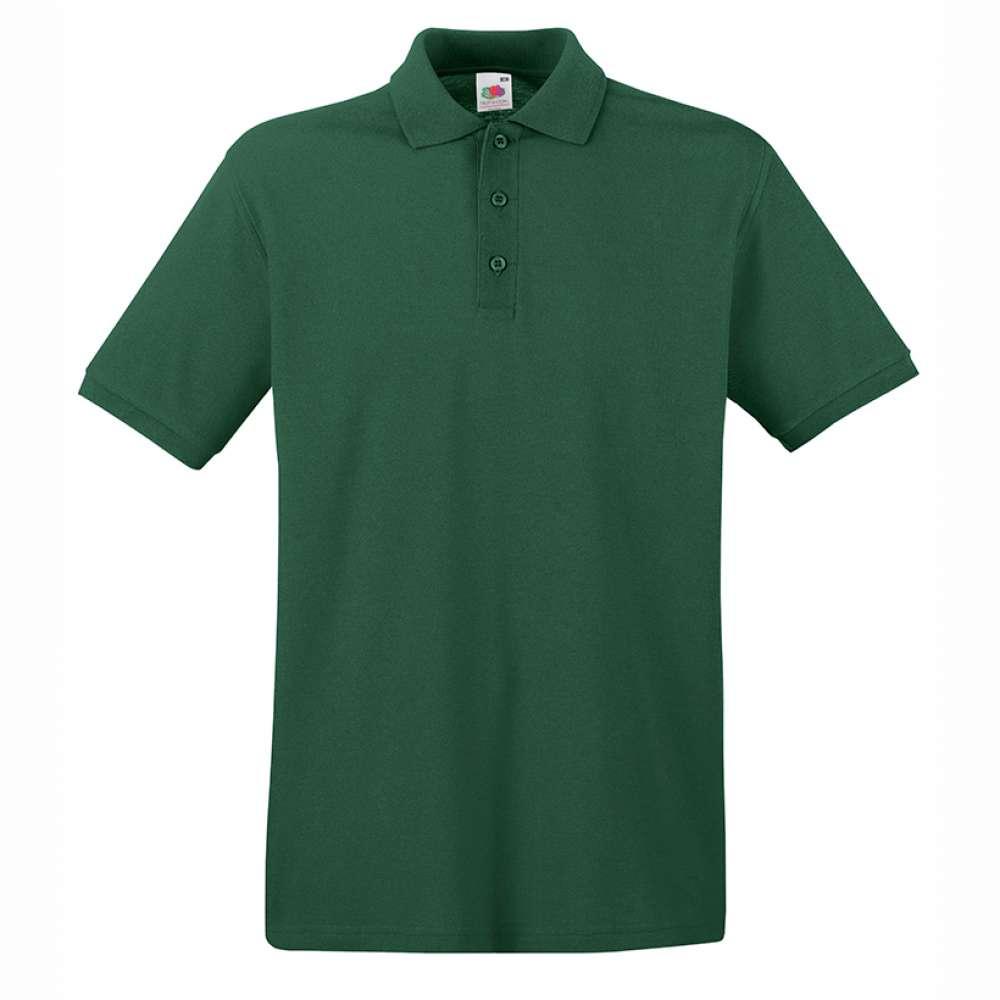 Tricou/Camasa stil Polo de barbat 100% bumbac verde