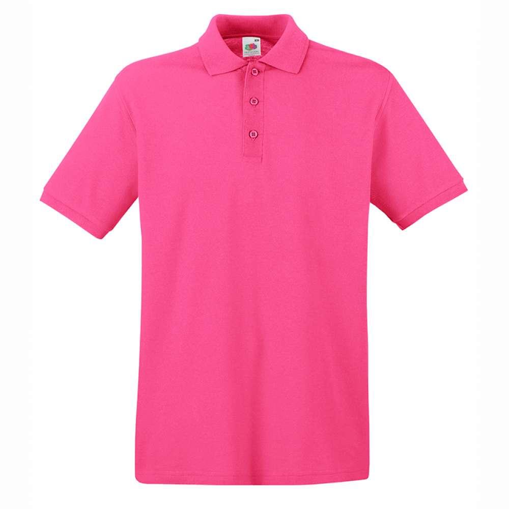Tricou/Camasa stil Polo de barbat 100% bumbac roz