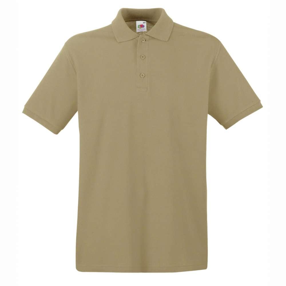 Tricou/Camasa stil Polo de barbat 100% bumbac khakhi