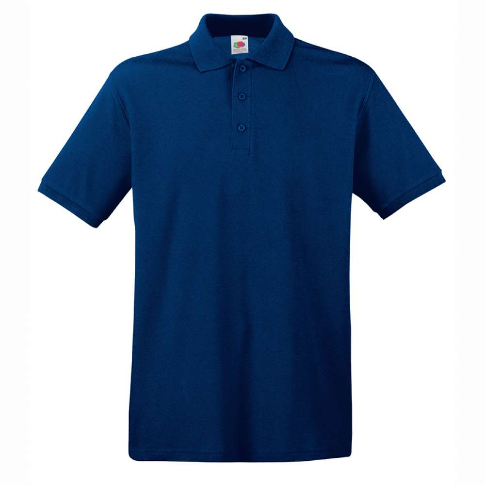Tricou/Camasa stil Polo de barbat 100% bumbac albastru inchis