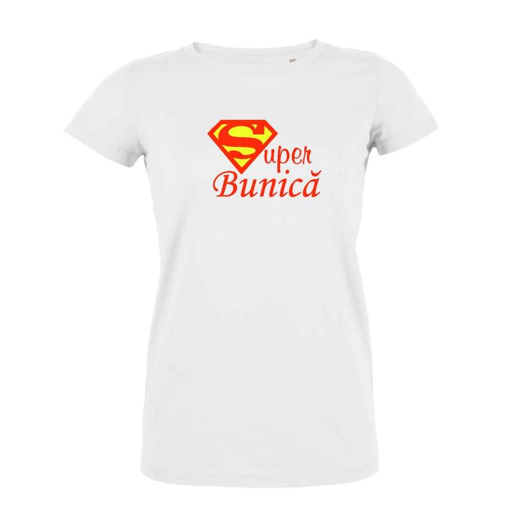 Tricou pentru femei pe alb sau pe negru Super Bunica